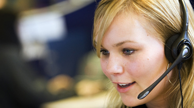 ZOETERMEER - Callcenter Teleperformance in Zoetermeer. ANP PHOTO XTRA LEX VAN LIESHOUT