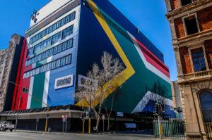 "Image (CC) - Paul Saad, ""South African Flag, Johannesburg"" (Flickr)"