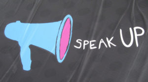 "Image (CC) - Howard Lake, ""Speak up, make your voice heard"" (Flickr)"