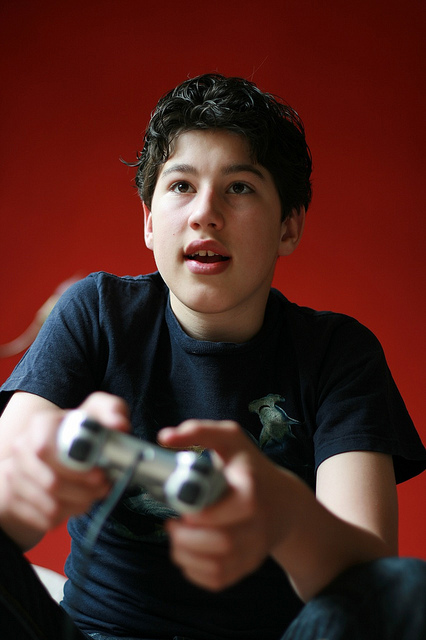 "Image (CC) - George, ""Gaming"" (flickr)"